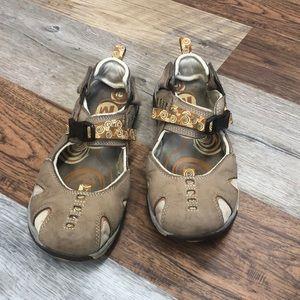 Merrell Siren Ginger Closed Toe Hiking Sandals